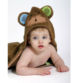 Zoocchini Zoocchini Baby Max the Monkey Hooded Towel