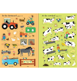 Usborne Little First Stickers: Farm