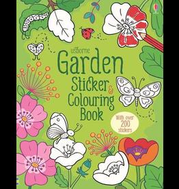 Usborne Garden Sticker & Colouring Book