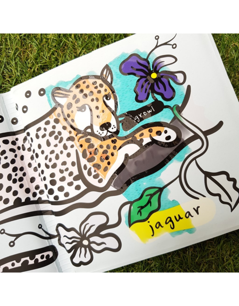 Wee Gallery Bath Book: Who's in the Rainforest?