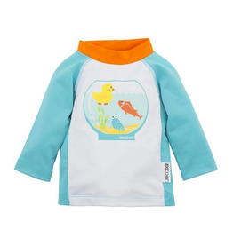 Zoocchini Fishbowl Buddies Baby Rash Guard