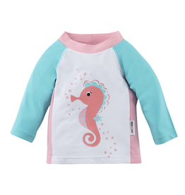 Zoocchini Seahorse Baby Rash Guard