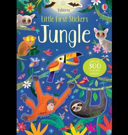 Usborne Little First Stickers: Jungle