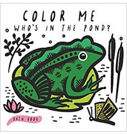 Bath Book: Who's in the Pond