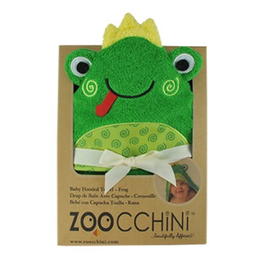 Zoocchini Zoocchini Baby Flippy the Frog Hooded Towel