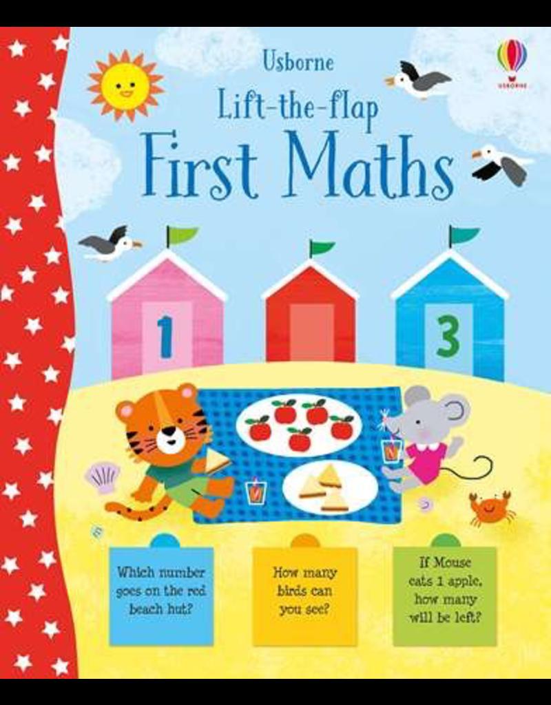 Usborne Lift-The-Flap: First Maths