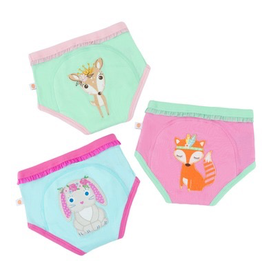 Zoocchini Woodland Princess Organic Training Pants