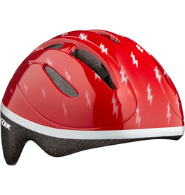 Lazser Baby/Toddler Bob Helmet - Red Flash