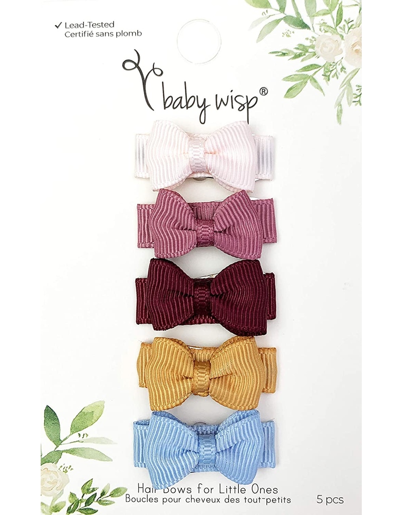 Small Snap Chic Bows 5 Pack - Squad Goals