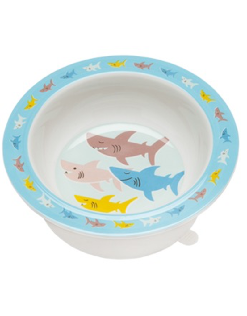 ORE Originals Divided Suction Plate - Smiley Shark