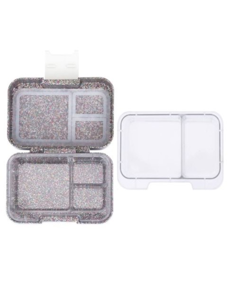 Muncii Snack - Sparkle Rainbow, White Latch