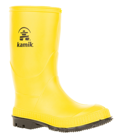Kamik Yellow Stomp Youth Rain Boots