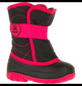 Kamik Black/Magenta Snowbug 3 Snow Boots