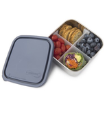 Kids Konserve Divided Medium To-Go Stainless Steel Container, Ocean, 30oz