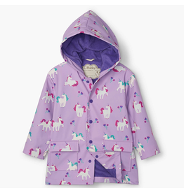 Hatley Playful Unicorns Colour Changing Raincoat