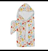 Loulou Lollipop Cutie Fruits Hooded Towel & Cloth
