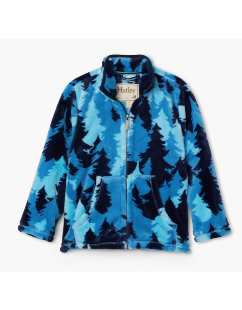 Hatley Forest Camo Fuzzy Fleece Jacket