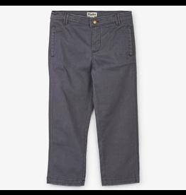 Hatley Grey Stretch Twill Pant Size 2