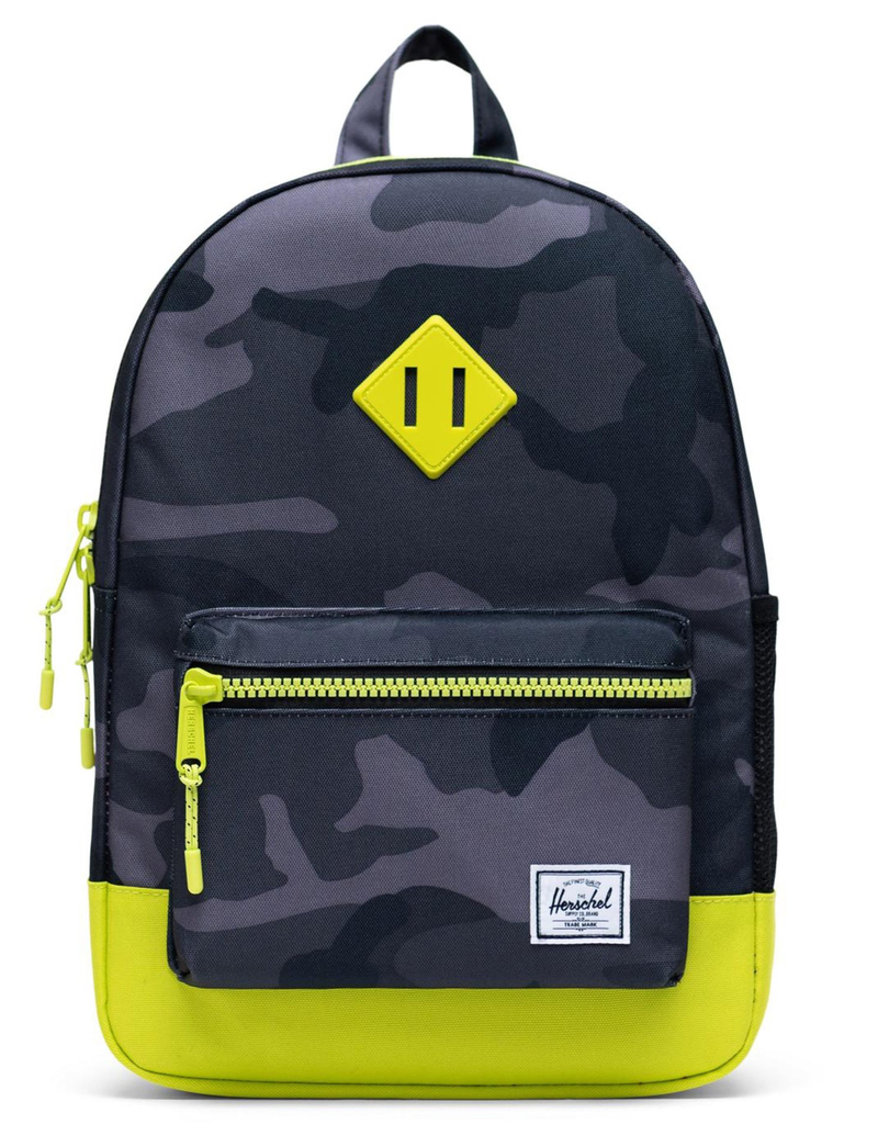 Herschel Heritage Youth Night Camo/Lime