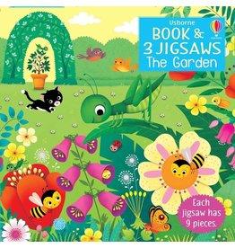 Usborne The Garden Book & Jigsaw