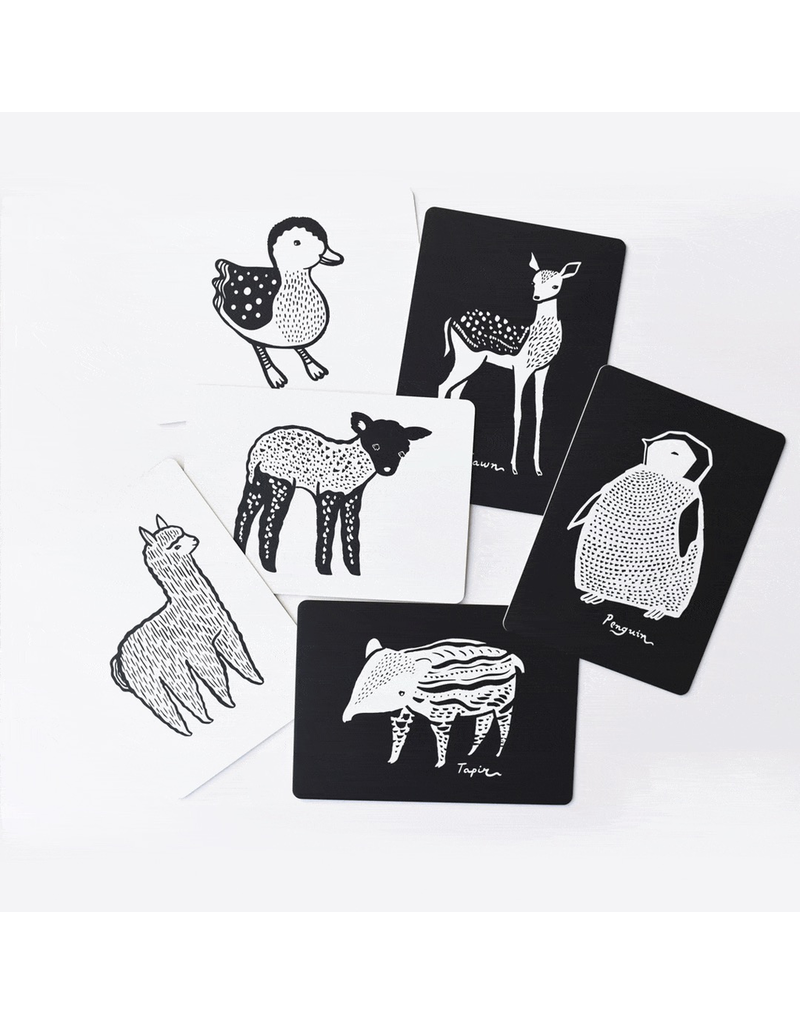Wee Gallery Art Cards - Baby Animals