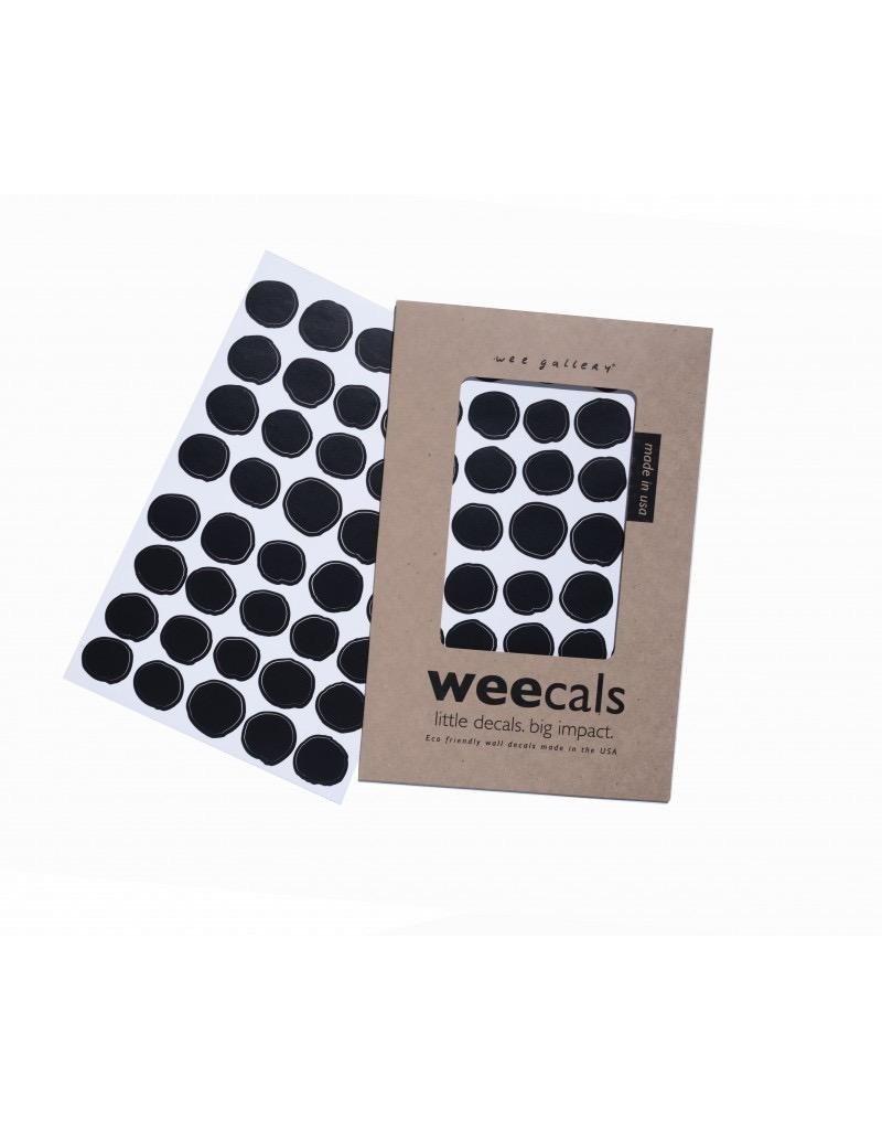 Wee Gallery Wee Cals - Black Dots