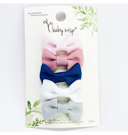 Charlotte Bows Snap Clip Sumber Party 5pk