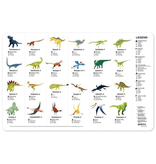 Crocodile Creek 2-Sided Placemat - Dinosaur World