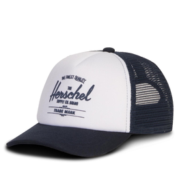 Herschel Whaler Cap White/Black