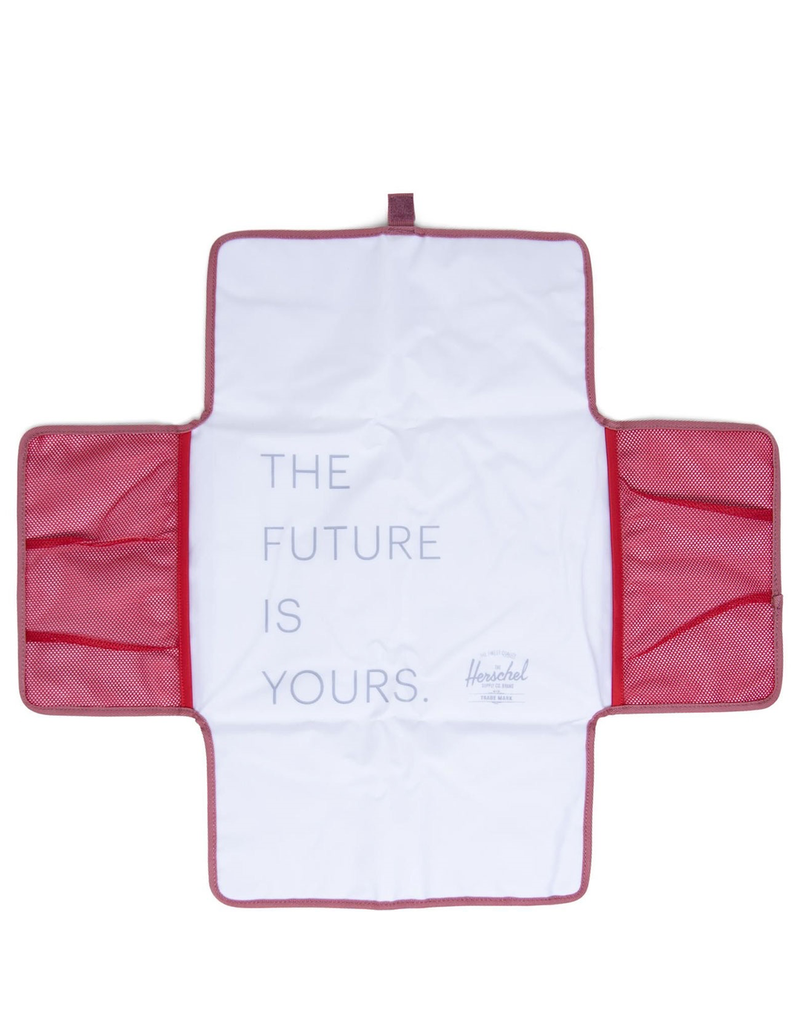 Herschel Strand Sprout Diaper Bag Deco Rose Slub