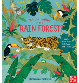 Random House Who's Hiding in the Rain Forest? Board Book