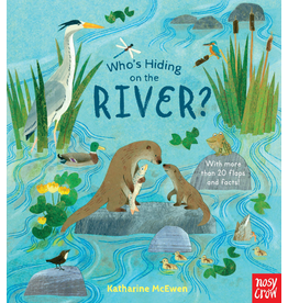 Random House Who's Hiding on the River? Board Book