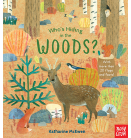 Random House Who's Hiding in the Woods? Board Book