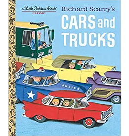 Random House Golden Book: Richard Scarry's Cars and Trucks