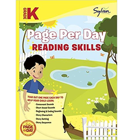 Random House Kindergarten Page Per Day: Reading