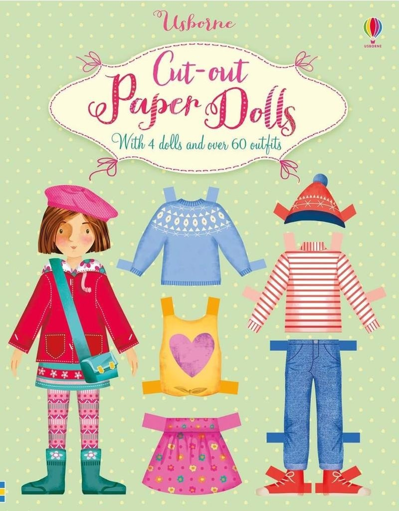 Usborne Cut-Out Paper Dolls