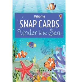 Usborne Snap Cards: Under The Sea