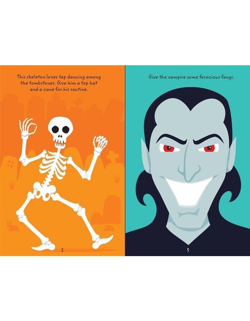 Usborne Over 100 Spooky Doodles