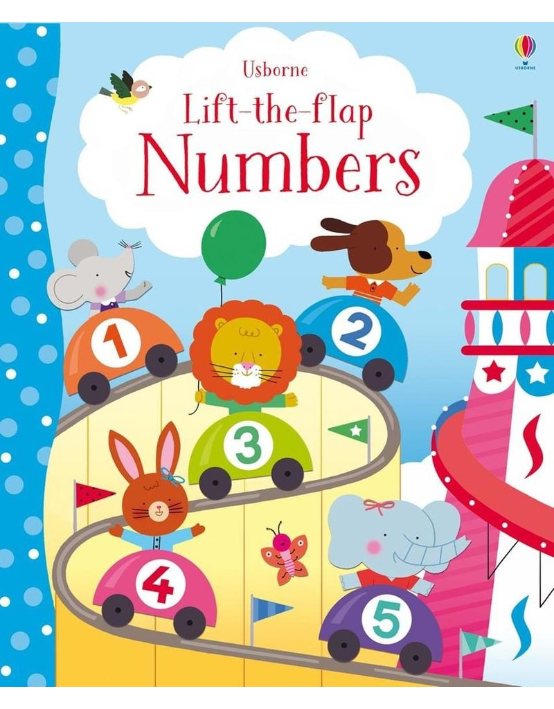 Usborne Lift-The-Flap: Numbers