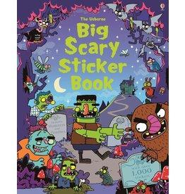Usborne Big Scary Sticker Book