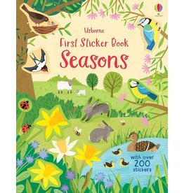 Usborne First Sticker Book Seasons