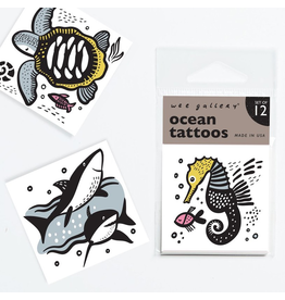 Wee Gallery Temporary Tattoos - Ocean