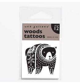 Wee Gallery Temporary Tattoos - Woods