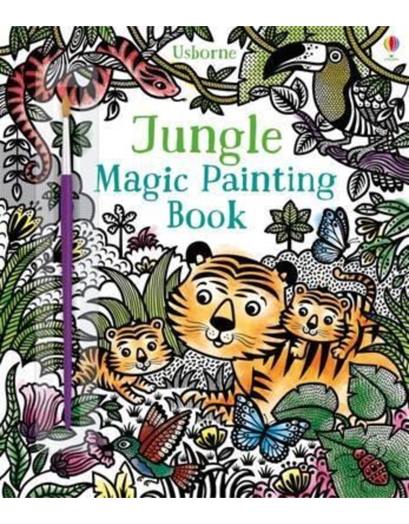 Usborne Magic Painting Book Jungle