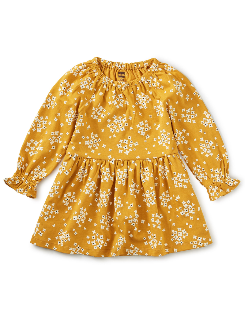 Tea Collection Golden Peasant Baby Dress