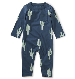 Tea Collection Cacti Pocket Romper