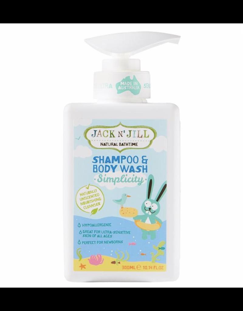 Simplicity Shampoo & Body Wash - Natural 300ml