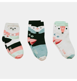 Arctic Animals Organic Sticky Socks