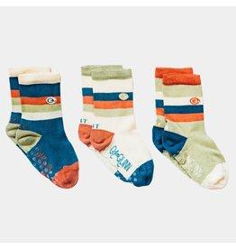 Striped Organic Sticky Socks