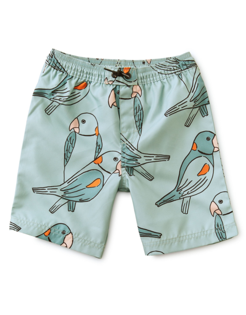 Tea Collection Parakeets Swim Trunks